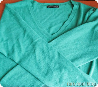 primark teal jumper