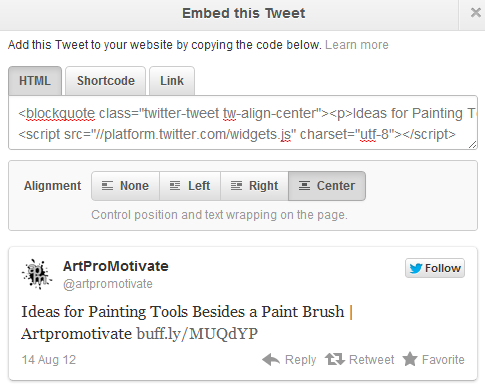 Twitter Tricks for Smart Tweeters  Embed-tweet1