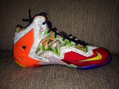 nike lebron 11 gr what the lebron 5 01 What the LeBron Nike LeBron XI Postponed. New Pics with 3M.