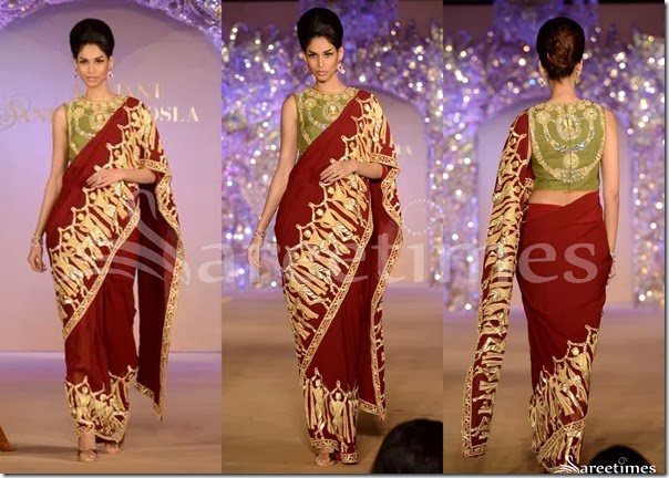 Abu_Jane_Sandeep_Brown_Saree
