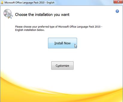 การติดตั้งเมนูภาษาไทยใน Microsoft powerpoint 2010