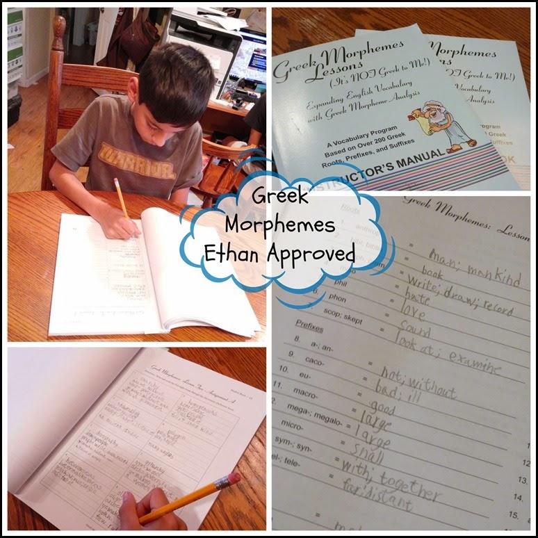 Greek Morphemes Ethan Approved