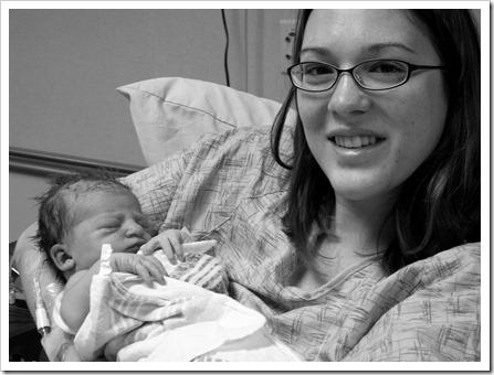 Birth of Elaine Cristin Hamilton