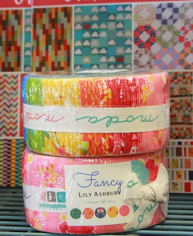 Fancy Moda jelly roll