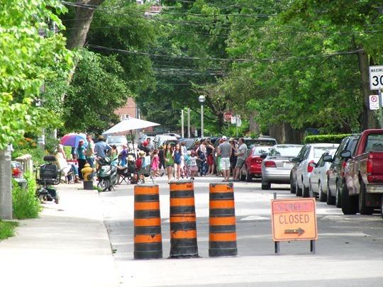 Reclaimed street
