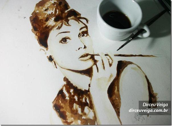 Arte com café de Dirceu Veiga (2)
