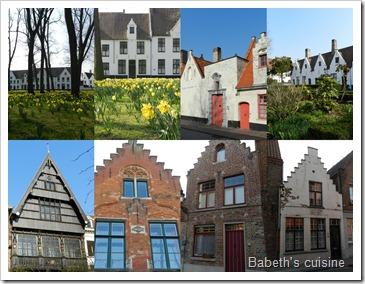 Facades Bruges