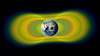 """Resultado de imagem para """"Radiação"""" de origem desconhecida gravada em torno da Terra"""