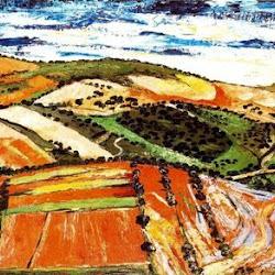 Benjamín Palencia (1959): Campos castellanos. Transvanguardia/Figuración. Realismo crítico
