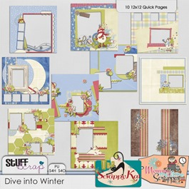 Dive Into Winter Quickpages