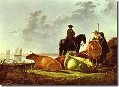 Cuyp,_Aelbert_-_Peasants_and_Cattle_by_the_River_Merwede
