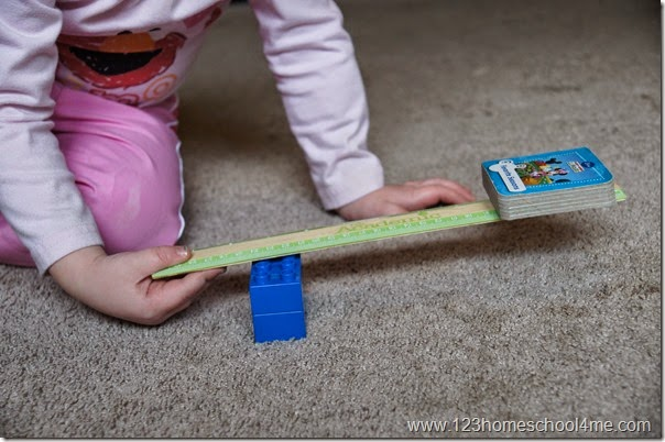 simple lever experiments for kids