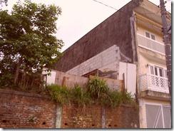 muro fundos