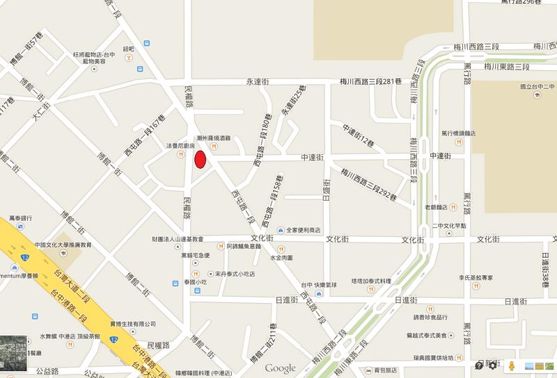 藍花楹map
