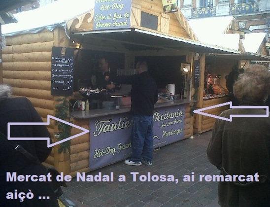 mercat de Nadal a Tolosa a
