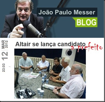 Blog JPM-Altair candidato