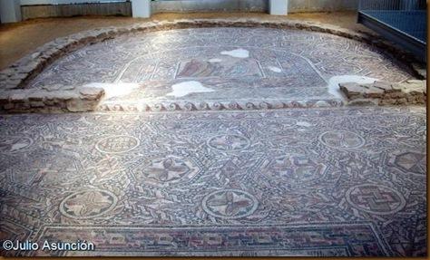 Villa de las Musas - Mosaico del oecus