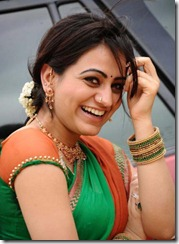 aksha _hot_in_saree1
