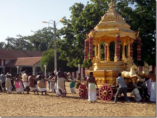 Jaffna, Nallur Kandaswamy temple