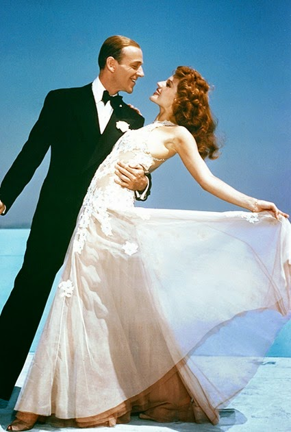 Fred Astaire Rita Hayworth in You Were Never Lovelier, 1942.
