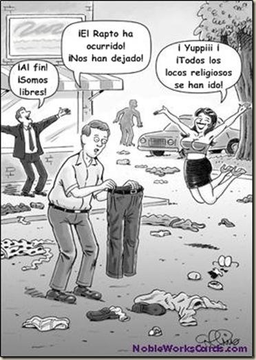 Rapto arrebatamiento humor ateismo cristianismo biblia dios (6)
