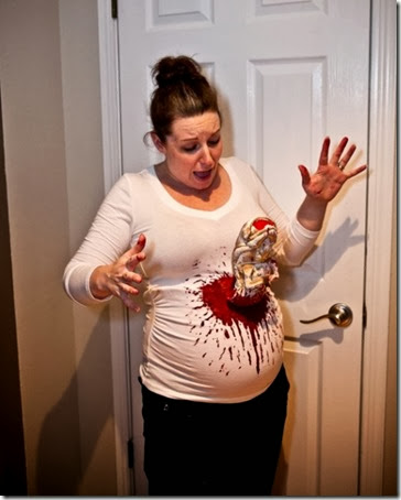 Embarazadas disfrazadas  (4)