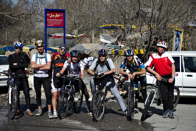 Trupa biciclistilor de soc din Mashhad