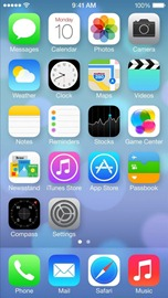 iOS7homescreen