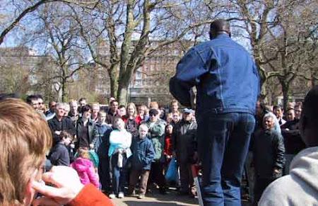 6. Imagini Anglia - Hyde Park, Speaker's Corner Londra