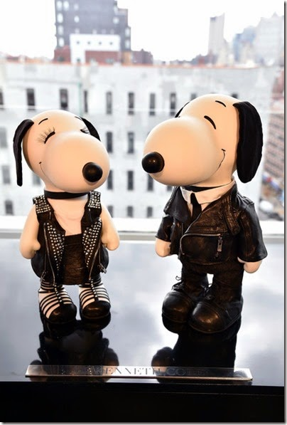 Peanuts X Metlife - Snoopy and Belle in Fashion Exhibition Presentation (Source - Slaven Vlasic - Getty Images North America) 21