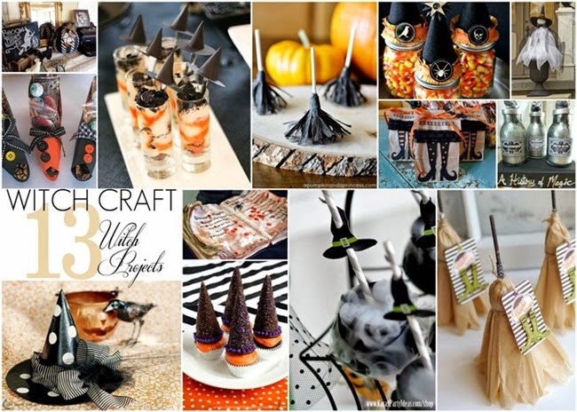 Witch Craft {Halloween Witch Projects} Round up via homework | carolynshomework.com