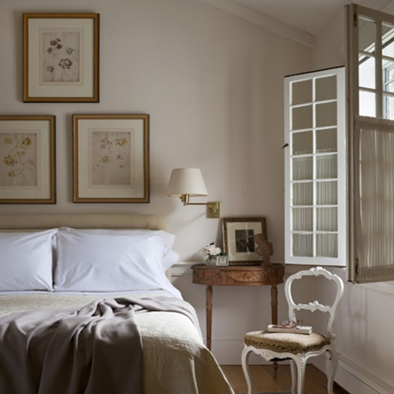Bedrooms and summerly bed linen