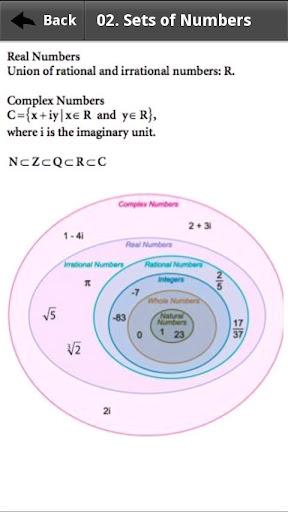 数学式リファレンス
