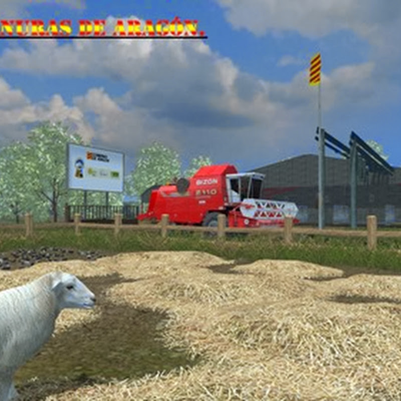 Farming simulator 2013 - Llanuras de Aragon New v 2.0
