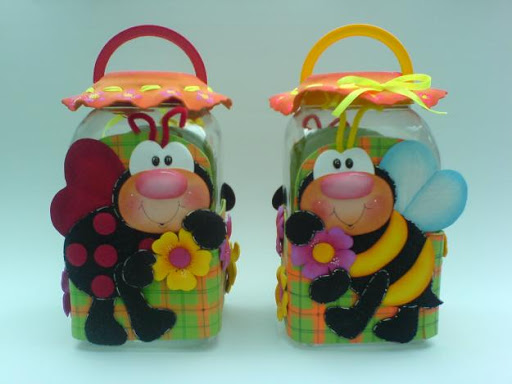 Muñecas en goma eva moldes - Imagui