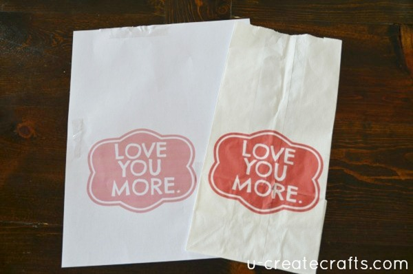 Love you more Valentine Bag Tutorial 11
