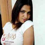 Bhuvaneswari in White TShirt Spicy Photos