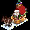 santas sleigh 2012