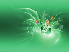 Windows 7 wallpaper 4 - Fabulous Seven