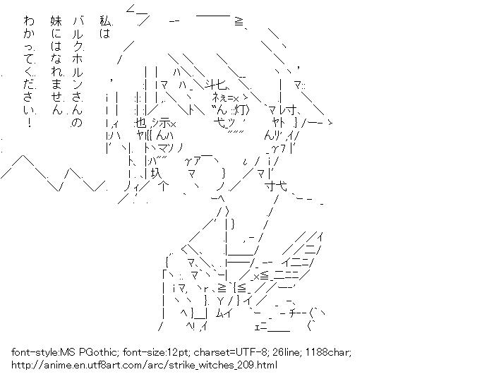 STRIKE WITCHES,Miyafuji Yoshika