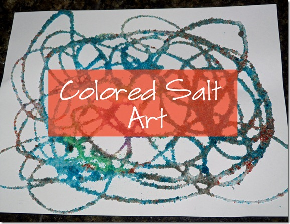 Colored Salt Art 1 Title