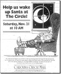 Christmas Ad November 1987