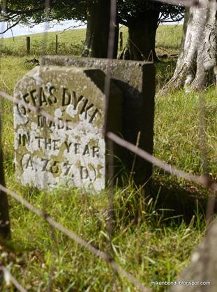 Offa's Dyke marker