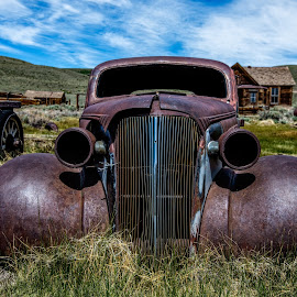 by Mark Cote - Transportation Automobiles ( car, bodie, ghost town )