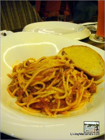 Citrus: Spaghetti Bolognese