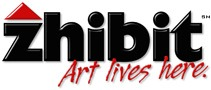 zhibit websites for artists