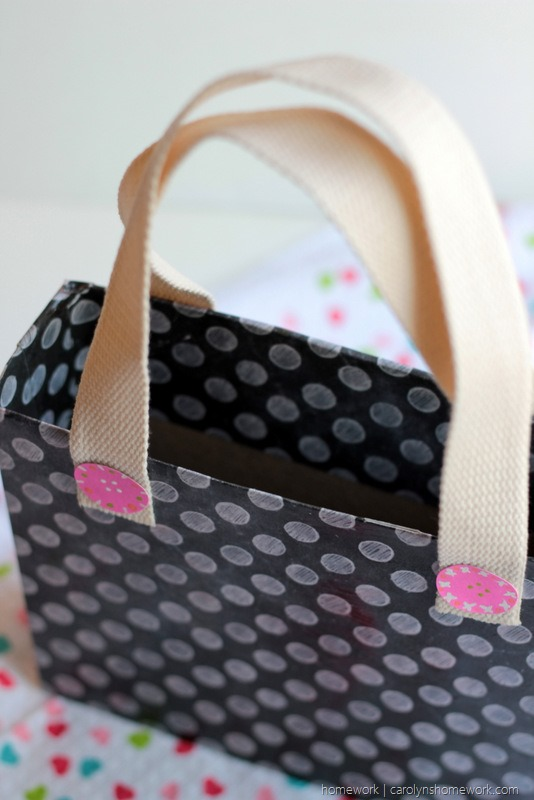 Cereal Box Purse - Valentine's Day Child Tote via homework (4)