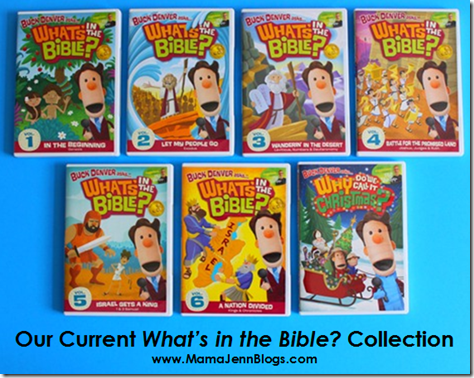 What's in the Bible? DVDs