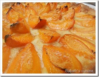 tarte aux abricots et crème d'amandes2