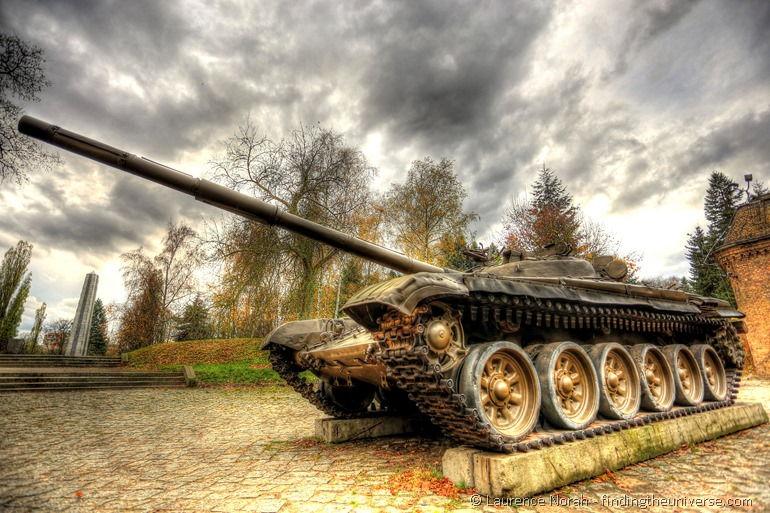 Panzer im Museum der Armee in Posen, Polen